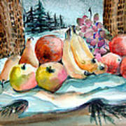 From My Window Art Print by Mindy Newman