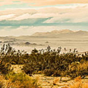 From Top Of The Mountain At Joshua Tree National Park Art Print