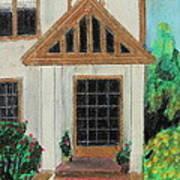 Front Door 1 Art Print