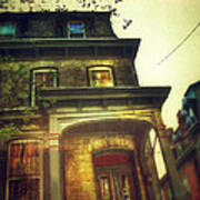Front Of Old House Art Print