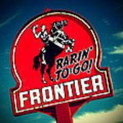 Frontier Land Art Print