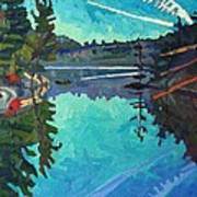 Frood Lake Outlet Art Print