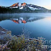 Frost At Paulina Lake Art Print