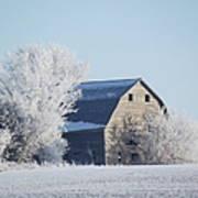 Frost Farm Art Print