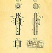 Frost Kazoo Patent Art 1883 Art Print