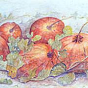 Frost on the Pumpkin Art Print
