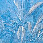 Frosty Window Art Art Print