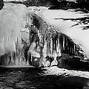 Frozen Basin Art Print