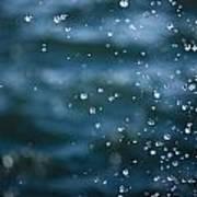 Frozen Droplets Art Print