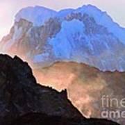Frozen - Torres Del Paine National Park Art Print