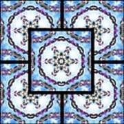 Frozen Orbweaver Page Art Print
