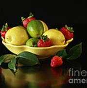 Fruit Explosion Art Print