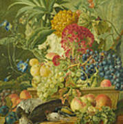 Fruit Flowers And Dead Birds Art Print