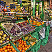 Fruit Market Art Print