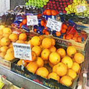 Fruit Stand Hoboken Nj Art Print
