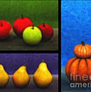 Fruit Trilogy Art Print