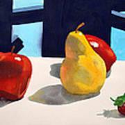 First Pear Art Print