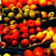 Fruits On The Market Art Print