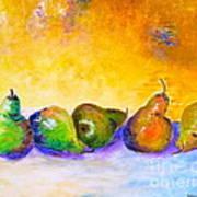Fruity Pearfection Art Print