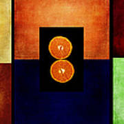 Fruity Triptych Art Print