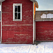 Ft Collins Barn 13496 Art Print by Jerry Sodorff
