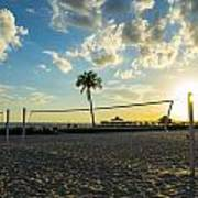Ft. Myers Volleyball Art Print