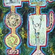 Fu-ego Art Print