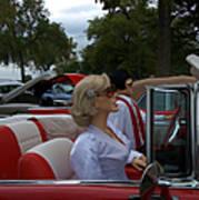 Fuel Injection Cadillac Art Print