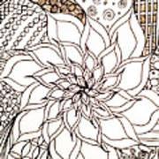 Full Bloom V Art Print