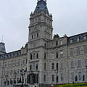 Full View Of Quebec's Parliament Building Art Print