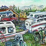 Fairbanks Landscaping Art Print