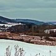 Fulmer Valley In Winter Art Print
