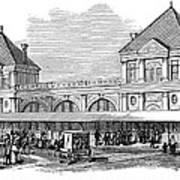 Fulton Fish Market, 1881 Art Print