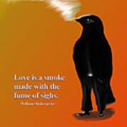 Fume Of Sighs - Williams Shakespeare Art Print