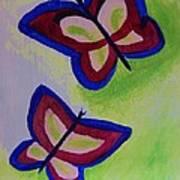 Fun Butterflies Art Print