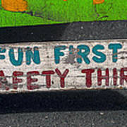 Fun First Art Print