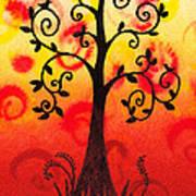 Fun Tree Of Life Impression IIi Art Print