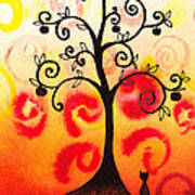 Fun Tree Of Life Impression Iv Art Print