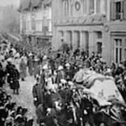Funeral Of Queen Victoria Art Print