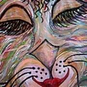Funky Feline  Art Print