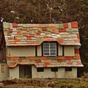 Funky House On 17 Mile Drive Art Print