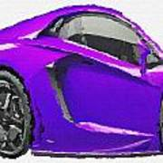 Funny Lamborghini Aventador Lp700 Car Canvas Print Canvas Art By