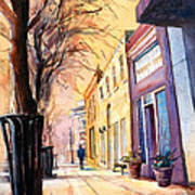 Fuquay-varina Downtown Art Print