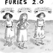 Furies 2.0 -- Ironia Art Print