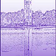 Furman Bell Tower Art Print