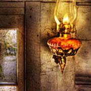 Furniture - Lamp - Kerosene Lamp Art Print