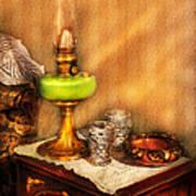 Furniture - Lamp - The Gas Lamp Art Print