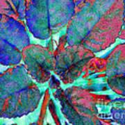 Furry Leaves 1 Art Print