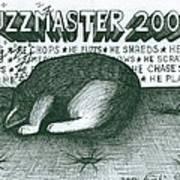 Fuzzmaster 2000 Art Print