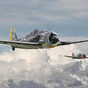 Fw 190 - Butcher Bird Art Print